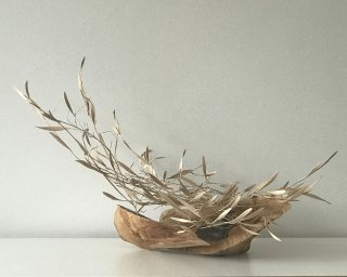 BREEZE by Natural Sculpture Artist Donna Forma