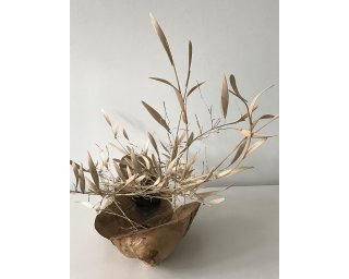 BREEZE (side view) by Natural Sculpture Artist Donna Forma