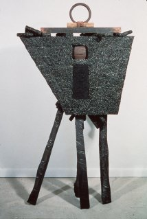 BUILDING ARMOR by Natural Sculpture Artist Donna Forma