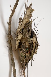 CHRYSALIS by Natural Sculpture Artist Donna Forma