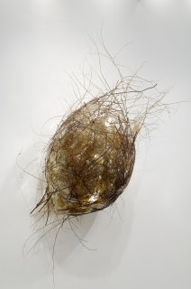 GOLD MICA by Natural Sculpture Artist Donna Forma