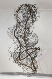 BAMBOO & VINE by Natural Sculpture Artist Donna Forma