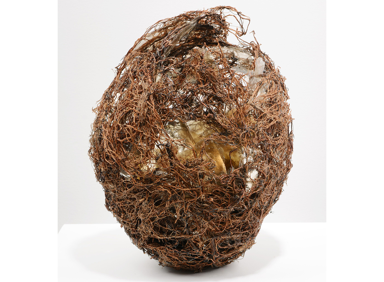 Closely Held natural art sculpture from Donna Forma